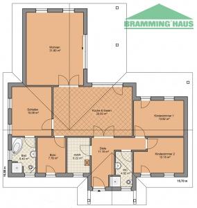 bramming haus gmbh winkelbungalow typ 139. Black Bedroom Furniture Sets. Home Design Ideas