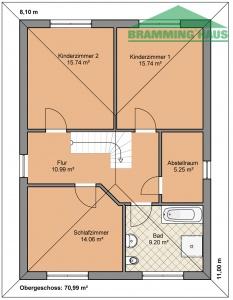 bramming haus gmbh stadtvilla typ 144. Black Bedroom Furniture Sets. Home Design Ideas
